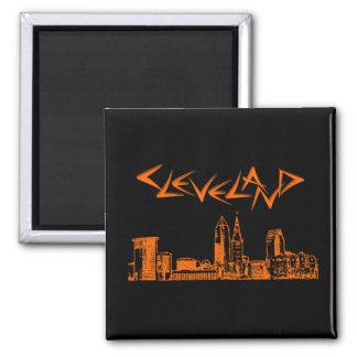 Cleveland Skyline Magnets