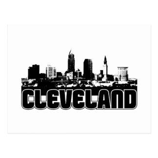 Cleveland Skyline Post Card