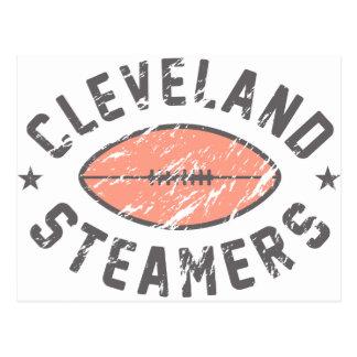 Cleveland Steamers Fantasy Football Postcard