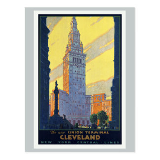 Cleveland The New Union Terminal Vintage Postcard