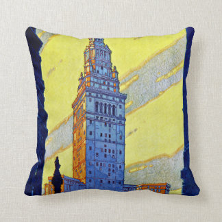 Cleveland ~ Union Terminal Cushion