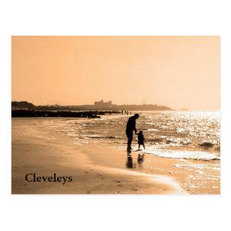Cleveleys Postcard