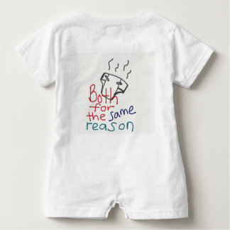 Clever baby body suit baby bodysuit