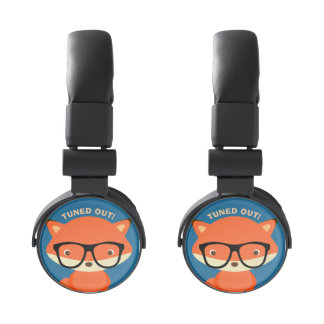 """Clever Fox """"Tuned Out"""" Headphones"""