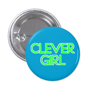 Clever Girl 3 Cm Round Badge