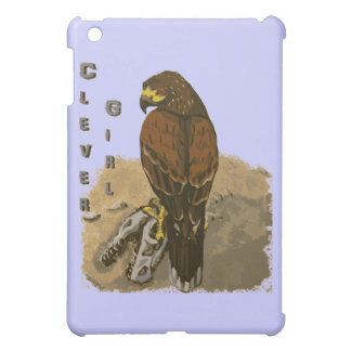 Clever Girl - Two Raptors iPad Mini Covers