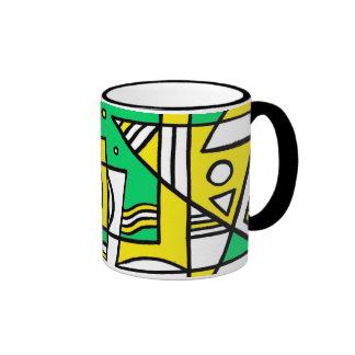 Clever Girly Precious Intelligent Ringer Mug