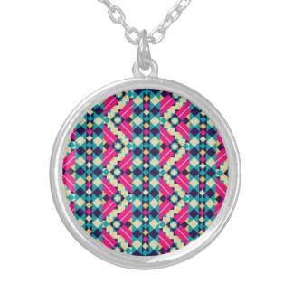 Clever Girly Precious Intelligent Round Pendant Necklace