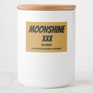 Clever Moonshine Labels