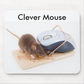Clever Mouse Mouse Pad
