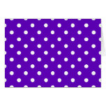 Clever Purple Polka Dot Cards, Notecards, Stickers