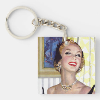 Clever Women Are Dangerous Too Key Ring
