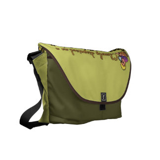 CLEVERLY DISGUISED AS A RESPONSIBLE ADULT MESSENGER BAGS