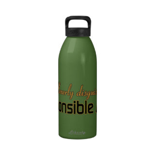 CLEVERLY DISGUISED AS A RESPONSIBLE ADULT WATER BOTTLES