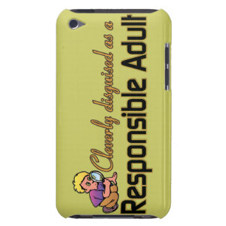 CLEVERLY DISGUISED AS RESPONSIBLE ADULT iPod Case-Mate CASES