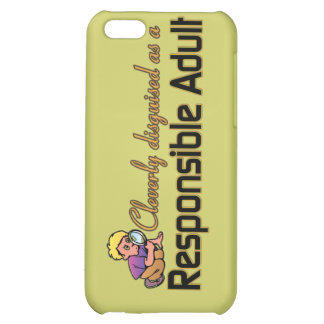 CLEVERLY DISGUISED AS RESPONSIBLE ADULT COVER FOR iPhone 5C