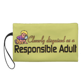 CLEVERLY DISGUISED AS RESPONSIBLE ADULT WRISTLETS