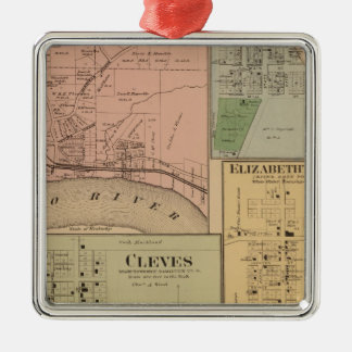 Cleves, North Bend, Ohio Christmas Ornament