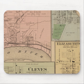 Cleves, North Bend, Ohio Mouse Mat