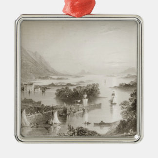 Clew Bay seen from Westport, County Mayo Christmas Ornament