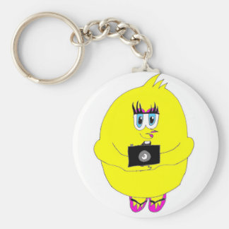 Click Chick Keychain