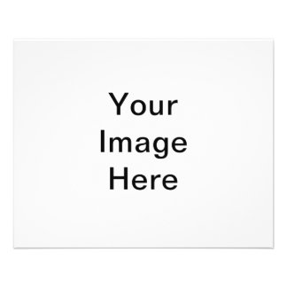 CLICK CUSTOMIZE IT - ADD YOUR PHOTO HERE! MAKE OWN 11.5 CM X 14 CM FLYER