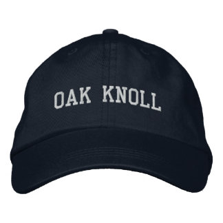 (Click to change hat color) Embroidered Oak Knoll