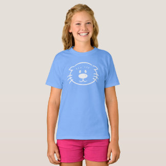(click to choose shirt color & style) Ollie White