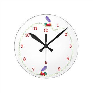 Clickety Clack Train Time Clocks
