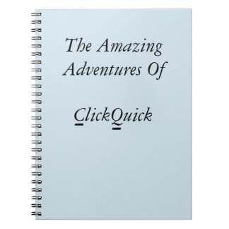 ClickQuick 80 Page Notebook