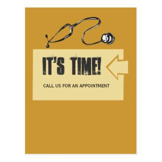 Client  Appointment Reminder Postcard