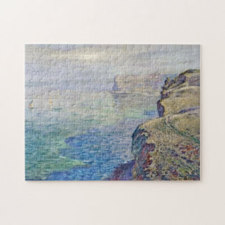 Cliff at Grainval near Fecamp Monet Fine Art Puzzles