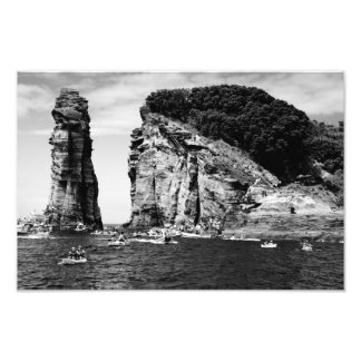 Cliff Diving event Photo Print