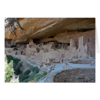 Cliff Dwellings Card