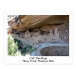 Cliff Dwellings Postcard