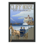 Cliff House - San Francisco, CA Travel Poster
