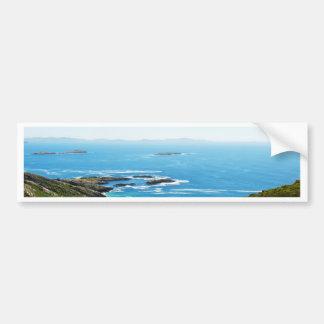 Cliff in Ireland Bumper Sticker