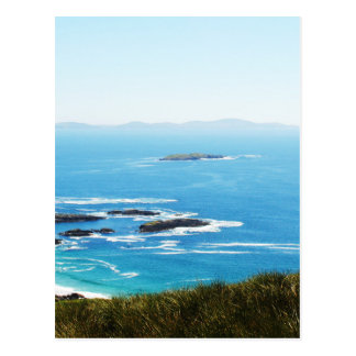 Cliff in Ireland Postcard