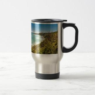 Cliff on the Baltic Sea coast Coffee Mugs