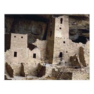 Cliff Palace, Mesa Verde, Colorado, USA 21.5 Cm X 28 Cm Flyer