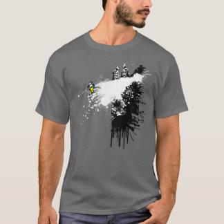Cliff Skier Design T-Shirt