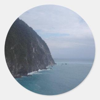 cliff round stickers