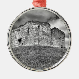Clifford's Tower in York  historical building Christmas Ornament