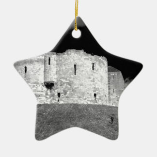 Cliffords Tower York Ceramic Star Decoration
