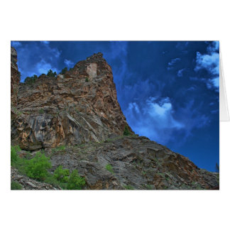 Cliffs and Clouds Note Card (blank)