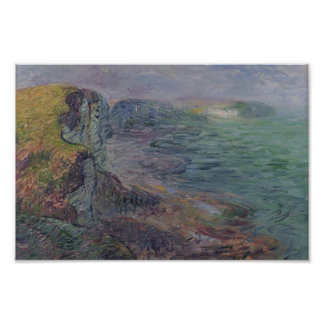 Cliffs at Yport by Gustave Loiseau Posters