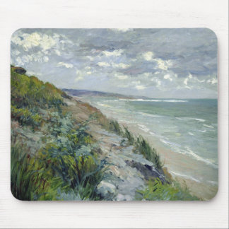 Cliffs by the sea at Trouville Mouse Mat