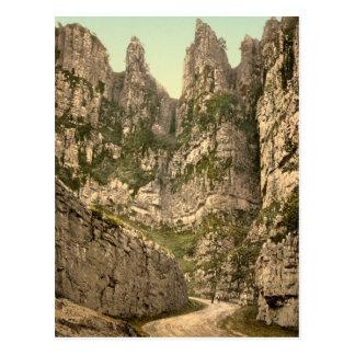 Cliffs I, Cheddar, Somerset, England Postcard