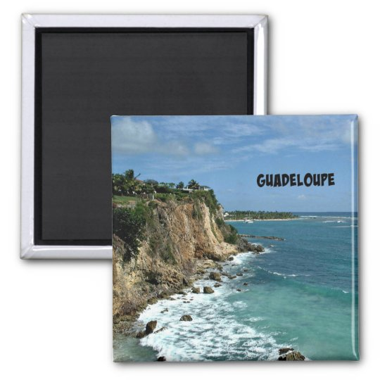 Cliffs in Guadeloupe, Labelled Magnet