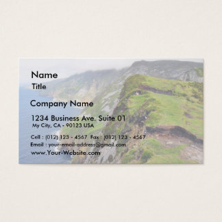 Cliffs Ocean Slieve League Business Card